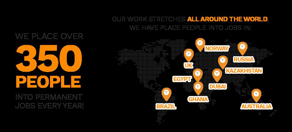 Major global presence