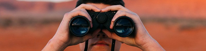 Recruitment Agency - Searching with binoculars